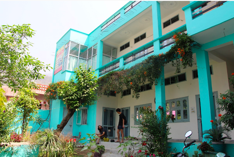 The building of Rajendra Yoga and Wellness Center