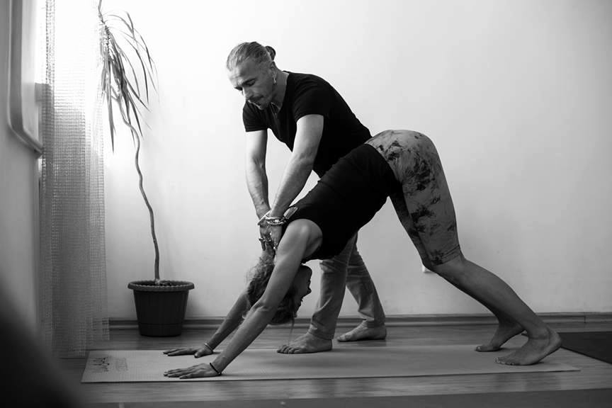 Anatoliy Zenchenko instructor of Ishvara yoga in Ukraine