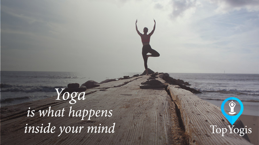 Yoga is what is going on in our minds. Article on standards of yoga
