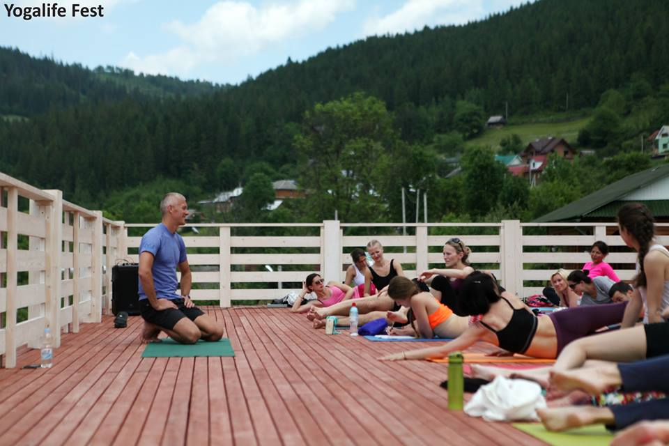 Slava Gutsaluk yoga teacher in Kiev