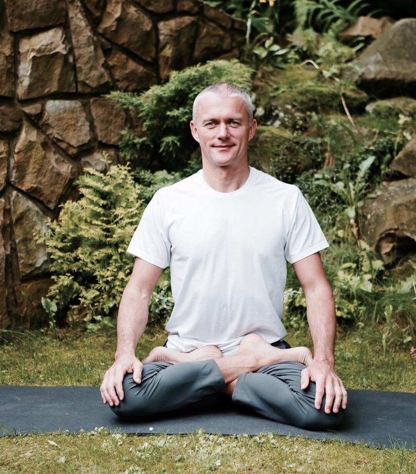 Slava Gutsaluk hatha yoga and pranayama teacher in Kiev