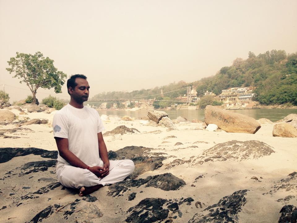 Sunil Sharma teacher of meditation and pranayama author of Yoganga healing system