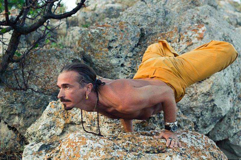 Anatoliy Zenchanko, yoga teacher and founder of Ishvara yoga Kiev
