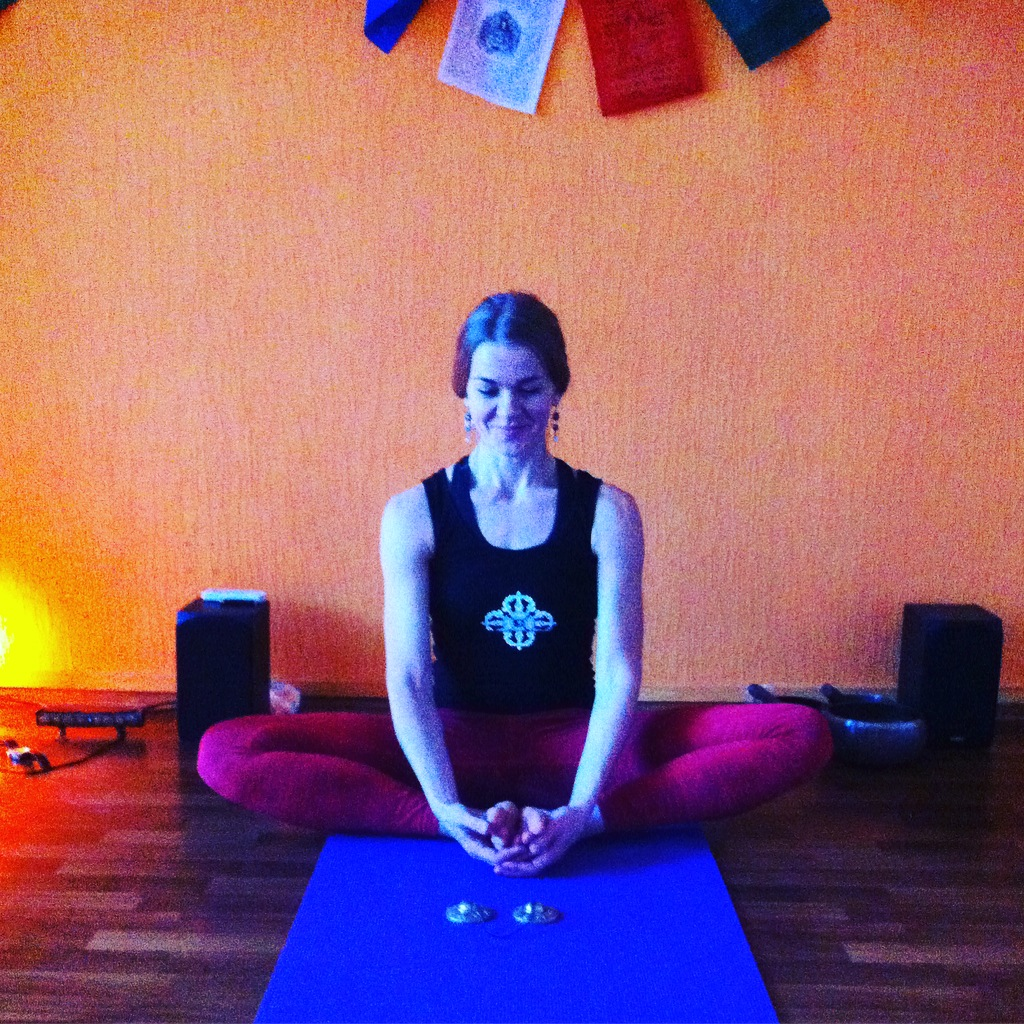 Yoga instructor Valerie Lynnyk Kiev