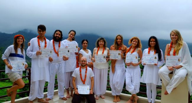 Yoga event Vinyasa Yoga Teacher Training Courses in Rishikesh India Rishikesh