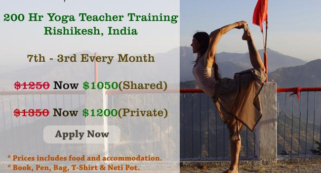 Йога мероприятие 200 Hour Yoga Teacher Training Program in Rishikesh Ришикеш