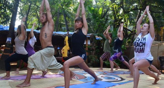 Йога мероприятие Yoga Teacher Training India Goa Rishikesh Dharamsala Гоа