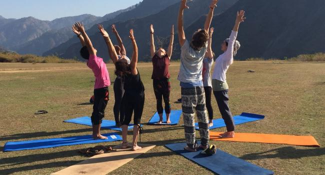 Йога мероприятие 300 hour Yoga Teacher Training in Rishikesh India Ришикеш