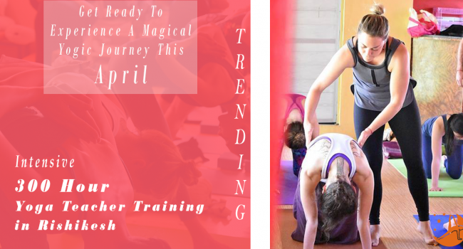 Yoga event 300 Hour Yoga Teacher Training in Rishikesh RYS300 (April) Rishikesh