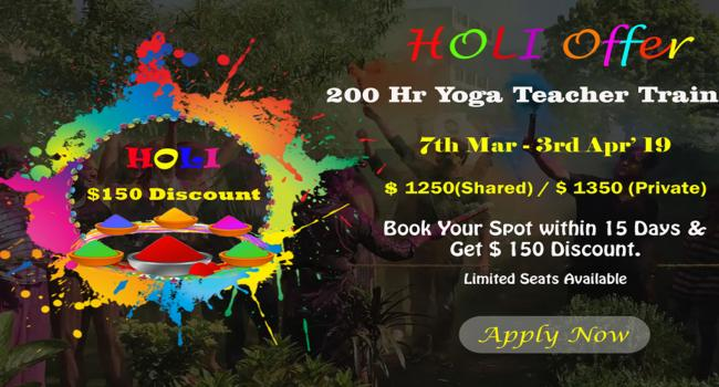Йога мероприятие $150 Offer on Traditional 200 Hr Yoga Teacher Training in Rishikesh, India Ришикеш