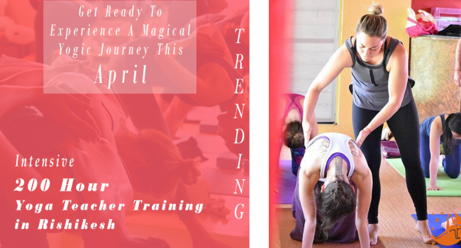 Yoga event 200 Hour Yoga Teacher Training in Rishikesh RYS200 (April) Rishikesh
