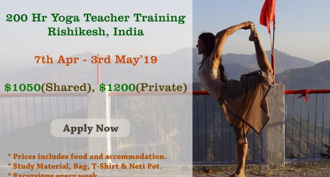 Yoga event Enrol For 200 Hr Yoga Teacher Training in Rishikesh Rishikesh