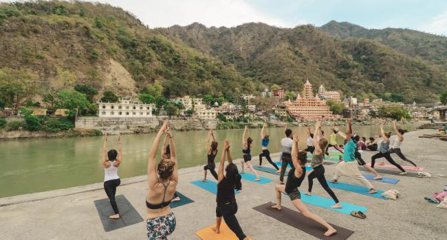 Йога мероприятие 500 -Hour Vinyasa Yoga Teacher Training course in Rishikesh Ришикеш