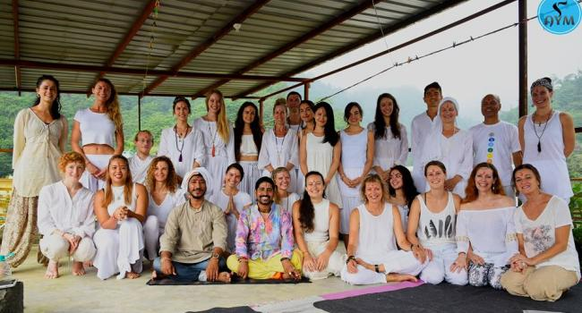 Yoga event 500-hour yoga teacher training in India Rishikesh