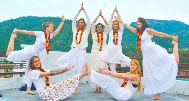 Yoga event 100 Hour Yoga Teacher Training in Rishikesh, India Om Shanti Om Yoga Ashram Rishikesh