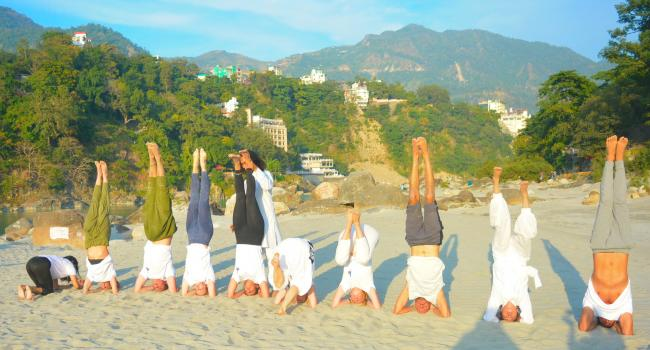 Yoga event 200 Hour Yoga Teacher Training in Rishikesh, India Om Shanti Om Yoga Ashram Rishikesh