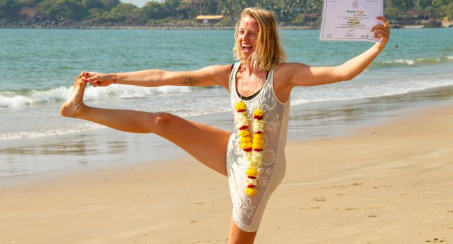 Yoga event 100 Hour Yoga Teacher Training in Goa, India Goa