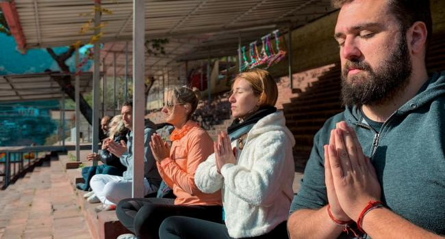Yoga event Meditation in India - Meditation Teacher Training in India (300 Hours) Online/Rishikesh [node:field_workplace:entity:field_workplace_city:0:entity]