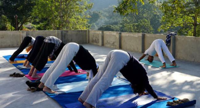 Yoga studio Yogastair Yoga Academy Rishikesh