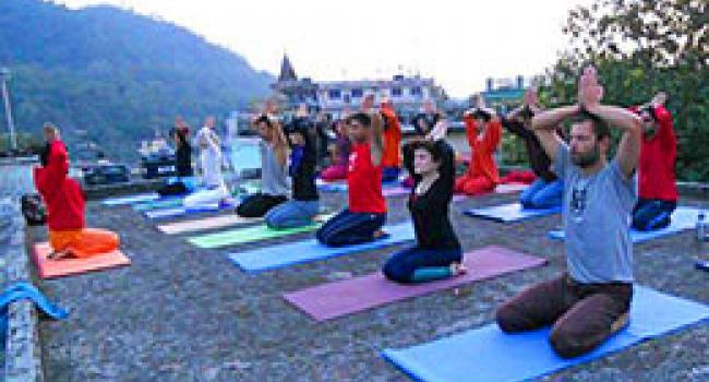 Yoga studio Rishikesh Yoga Institute Rishikesh