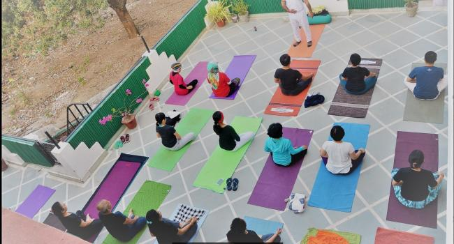 Yoga studio Vedansha Institute of Vedic Science & Alternative Medicine Rishikesh
