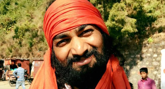 Yoga instructor Yogi Dinesh Chander Rishikesh