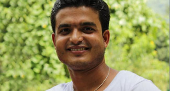 Yoga instructor Bipin Baloni Rishikesh