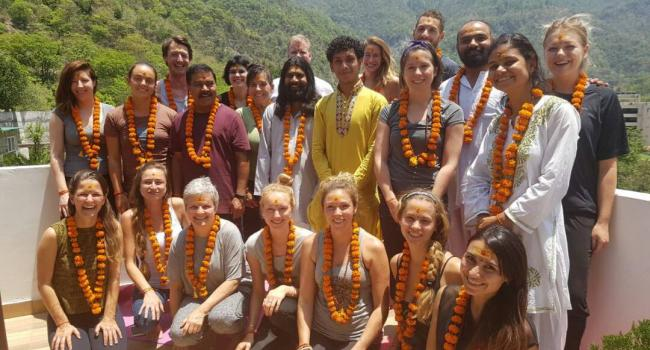 Yoga studio Yoga India Foundation Rishikesh