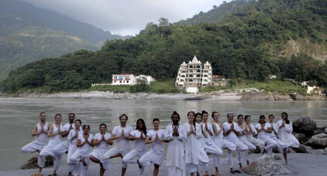 Yoga studio Patanjali International Yoga Foundation Rishikesh Rishikesh