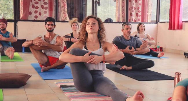 Yoga instructor yogacenterindia Rishikesh