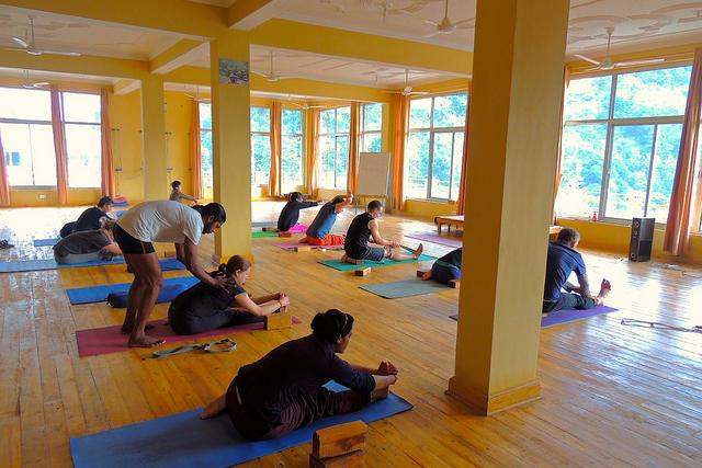 Yoga studio Association for Yoga and Meditation Rishikesh