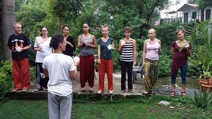 Yoga studio Kaivalya Yoga School Rishikesh