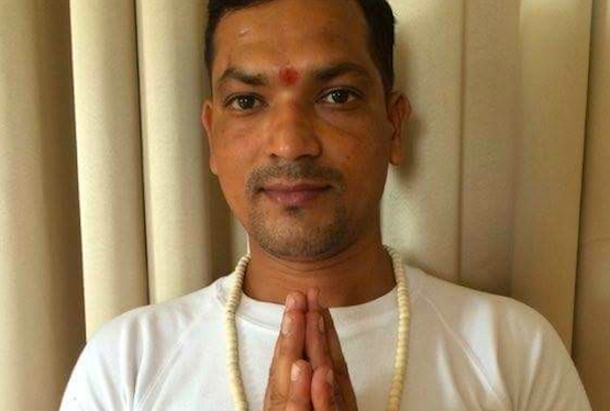 Yoga instructor Vikas Bisht Rishikesh