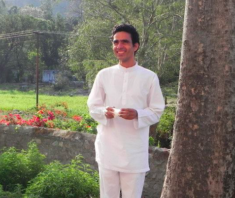 Yoga instructor Kamal Bhatt Rishikesh