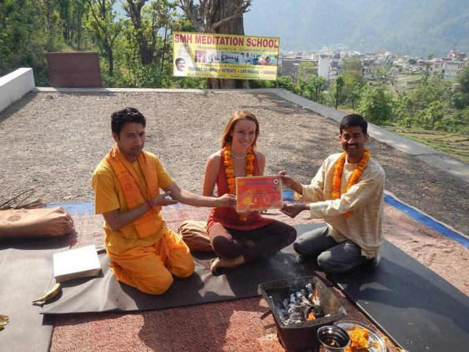 Yoga studio Meditation School Shree Mahesh Heritage Rishikesh