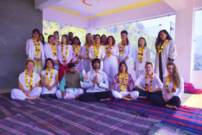 Yoga studio Hatha Yoga School Rishikesh
