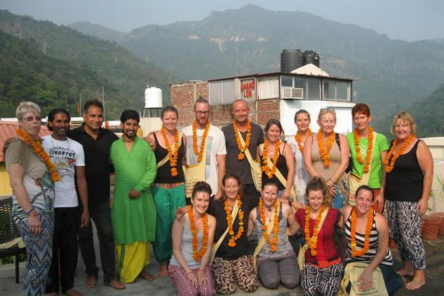 Yoga studio Hatha Yoga World Rishikesh