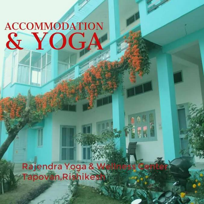 Yoga studio Rajendra Yoga and Wellness center Tapovan Rishikesh