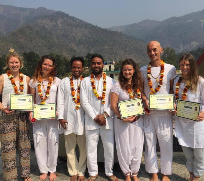 Yoga studio Atri Yoga Center Rishikesh